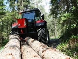 Vinčas kokmateriālu transportēšanai